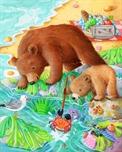 Picture of Bears Seaside - Hidden Objects
